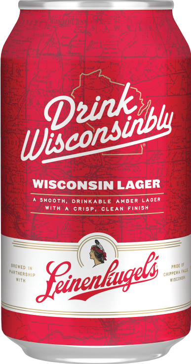 Drink Wisconsibly Wisconsin Lager