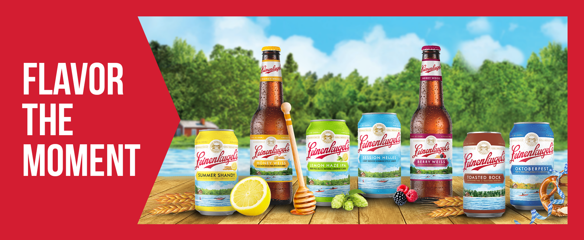 Leinie Beer Flavor the Moment